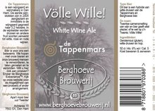 Völle Wille! - White Wine Ale (50 cl)